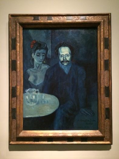 Pablo Picasso, 1881-1973. Portrait of Sebastian Juner Vidal, 1903. His blue period.