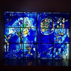 Marc Chagall, 1887-1985. America Windows, 1975-77.