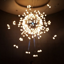 Mid century chandelier