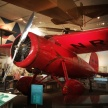 Amelia Earhart's Lockheed Vega. She called it her Little Red Bus. An amazing woman.