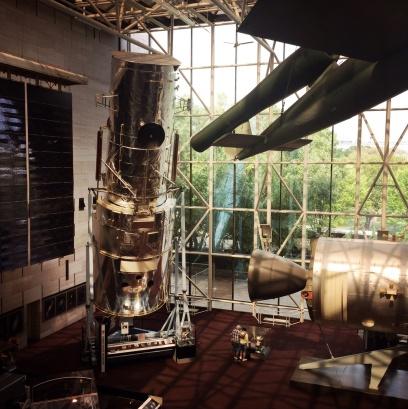 Hubble Space Telescope. It's a back up / prototype.