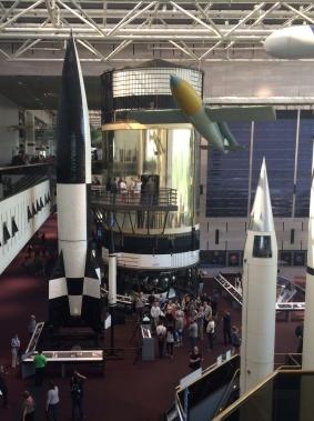 Skylab Orbital Workshop (the gold thing)