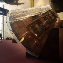 Apollo II command module Columbia.
