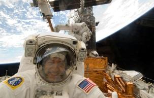 Best Selfie ever! Astronaut, M. Massimino. Source: meche.mit.edu