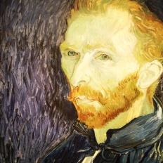 Vincent Van Gogh, 1853-1890. Self-Portrait, 1889.