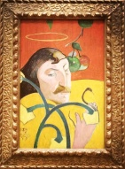 Paul Gauguin, 1848-1903. Self-Portrait, 1889.