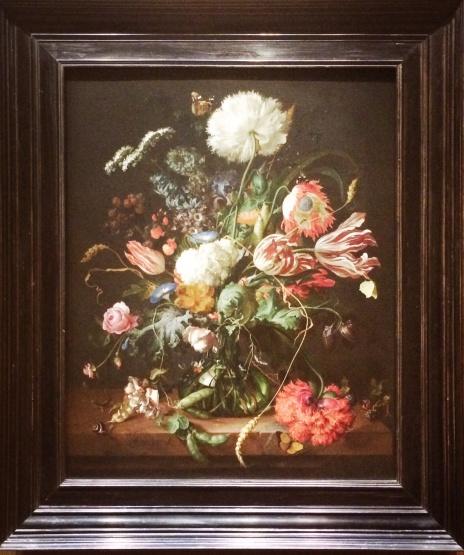 Jan Davidsz. de Heem, 1606-1683. Vase of Flowers, 1645.