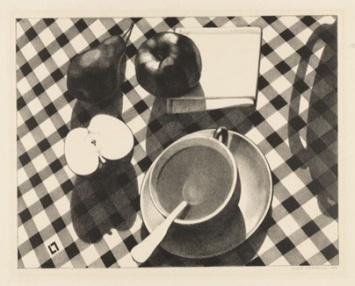 Louis Lozowick, 1892-1973. Still Life #2, 1929.