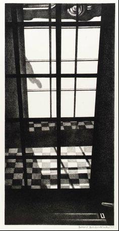 Louis Lozowick, 1892-1973. Doorway into Street, 1929.