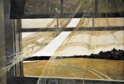Andrew Wyeth, 1917-2009. Wind From the Sea, 1962.