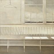 Andrew Wyeth, 1917-2009. Off at Sea, 1977. Source: www.nga.gov