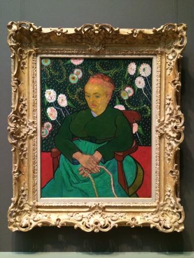 Vincent van Gogh, 1853-1890. La Berceuse, 1889.