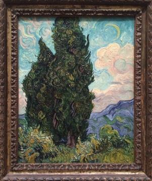 Vincent van Gogh, 1853-1890. Cypresses, 1889.