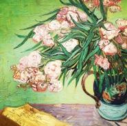 Vincent Van Gogh, 1853-1890. Oleanders, 1888.