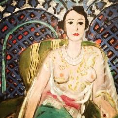 Henri Matisse, 1869-1954. Seated Odalisque, 1926.