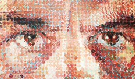 Chuck Close, b. 1940. Lucas I, 1986-87
