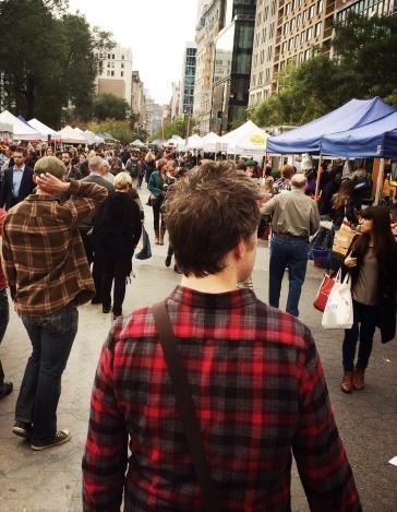 Farmers Market, Union Square.