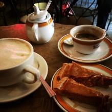 Coffee and Pumpkin Pie