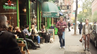 The hipsters of Greenwich Village