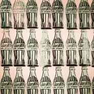 Andy Warhol, 1928-87. Green coca-cola bottles, 1962.