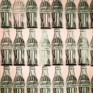 Andy Warhol, 1928-87. Green coca-cola bottles, 1962.