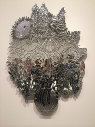 Jeff Koons, b. 1955. Vase of flowers, 1988.