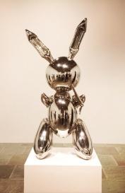 Jeff Koons, b. 1955. Rabbit, 1886.