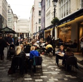 Alfresco dining, St Christopher's Place