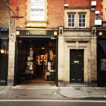 La Fromagerie. Cafe, Moxton Street.