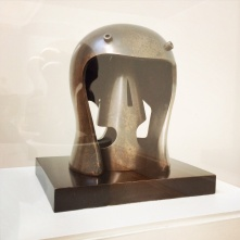 Henry Moore, 1898-1986. Helmet Head No.1, 1950.