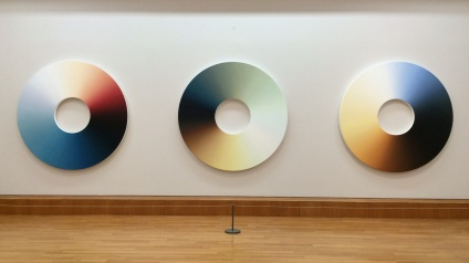 Olafur Eilasson b.1967. Colour Experiment no. 59, 63, and 61. 2014.