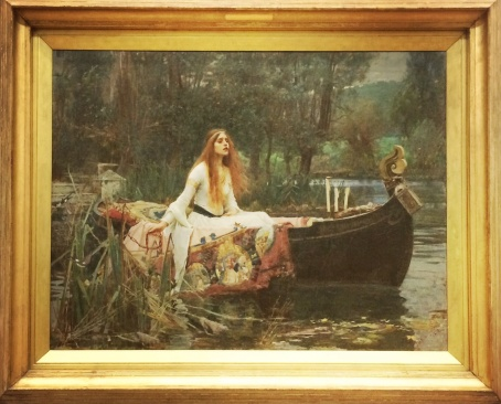 John William Waterhouse, 1849-1917. The Lady of Shalott, 1888.