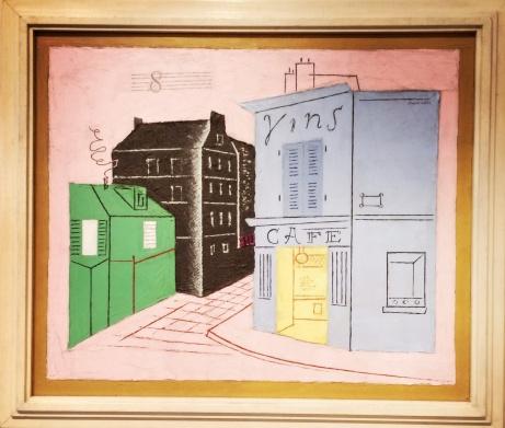 Stuart Davis, 1892-1964. Blue Cafe, 1928.