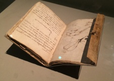 Leonardo da Vinci, 1452-1519. Notebooks from 1490-1493.