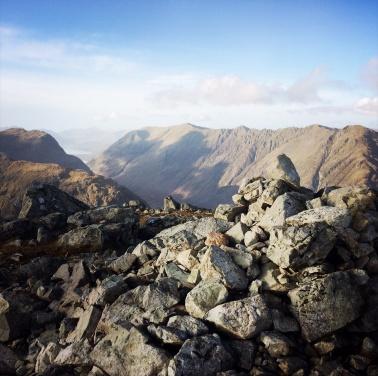 The pinnacle of Stob Coire Raineach, 928m.