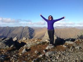 Me on top! Stob Coire Raineach