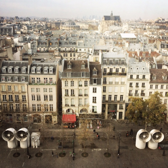 View from the Pompidou Centre