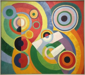 Robert Delaunay, Rythme, Joie de vivre, 1930.