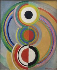 Sonia Delaunay, 1885-1979. Rythme, 1938.
