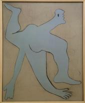Pablo Picasso, 1881-1973. L'acrobate bleu, 1929.