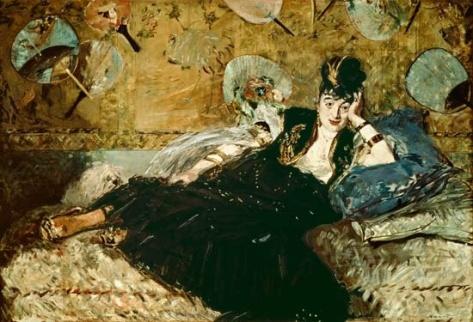 Edouard Manet, La Dame aux Eventails, 1873