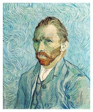 Vincent Van Gogh, Self Portrait, 1889. The original selfie.