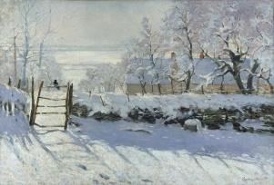 Claude Monet, La Pie, 1868-1869.