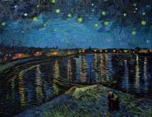 Vincent Van Gogh, La nuit etoilee, 1888.