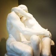 Auguste Rodin, 1840-1917. Detail of The Kiss, 1882-1889