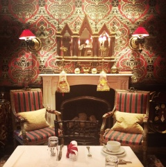 The Vestry Suite, our room at the Witchery Hotel in Edinburgh.