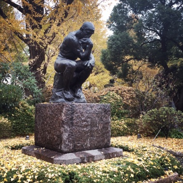 Auguste Rodin, 1840-1917. The thinker.