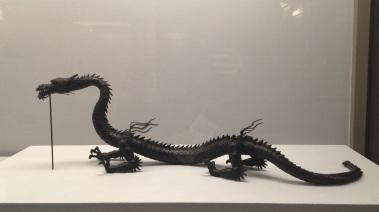 Myochin Muneaki, 1682-1751. Dragon, Edo period, 1713.