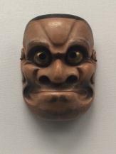 Noh mask: Chorei Beshimi, Edo period, 17th-18th Century.